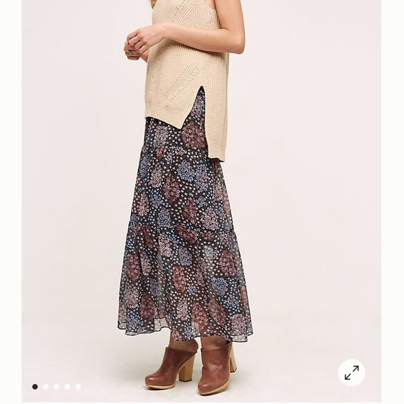 Anthropologie Dresses & Skirts - NWT Maeve maxi skirt from Anthropologie - medium